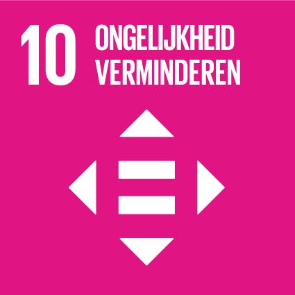 SDG10 Ongelijkheid verminderen